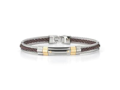 Cropped product listing gents bracelet