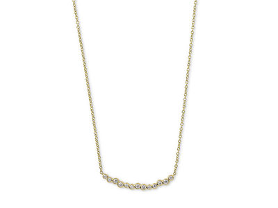 Cropped product listing glamazon stardust skinny smile bar necklace