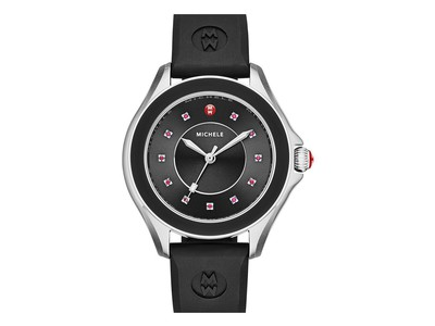 Cropped product listing black cape watch