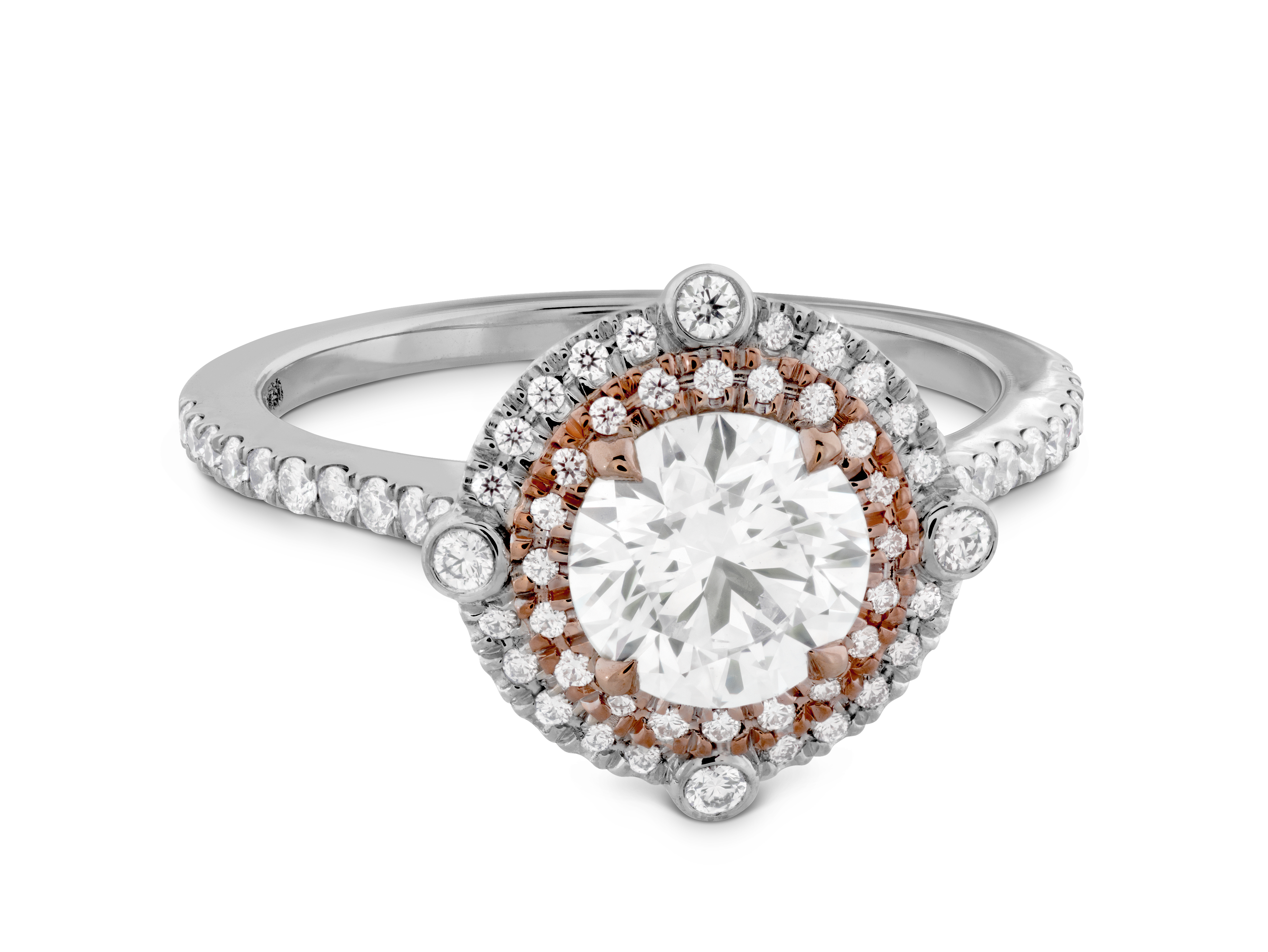 hearts on fire compass engagement ring murphy jewelers