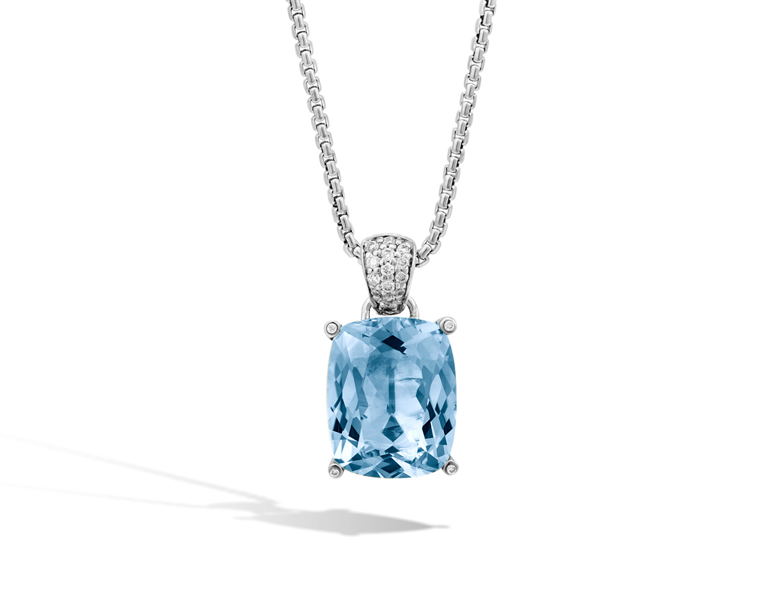 product square alt london necklace pendant wg sloane kiki topaz mcdonough grace blue jewellery