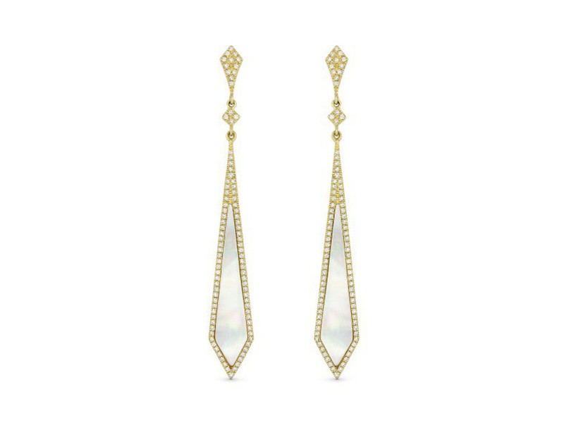 Cropped product page white pother of pearl stiletto earrings
