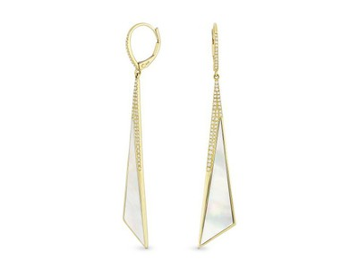 Cropped product listing stiletto earrings