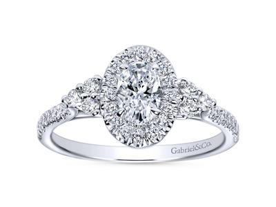 Cropped product listing oval engagement ring
