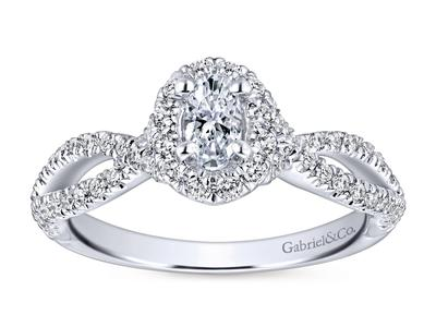 Cropped product listing victorian twist engagement ring