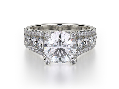 Cropped product listing stunning solitaire engagement ring