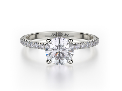 Cropped product listing solitaire engagement ring