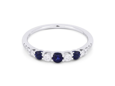 Cropped product listing blue sapphire diamond ring