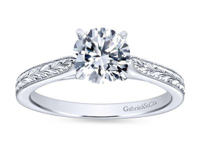 Cropped product listing cora solitaire engagement ring