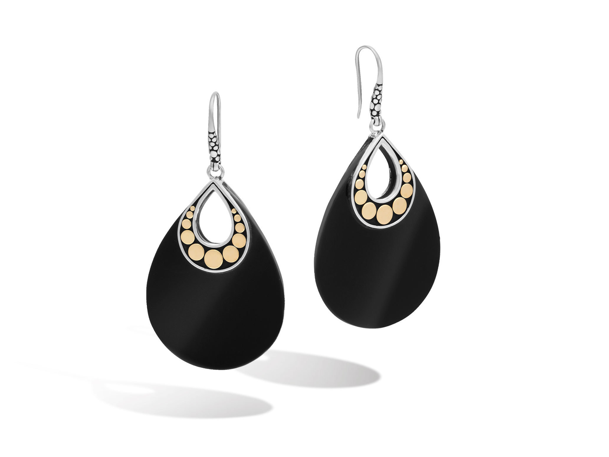 earrings pearl and lagos lg products sterling onyx
