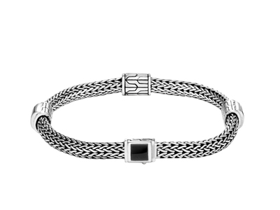 Cropped product listing classic chain four station bracelet