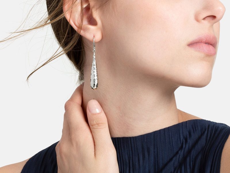 Cropped product page hammered drop earrings