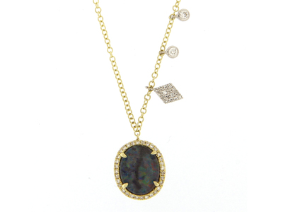 Cropped product listing australian opal necklace