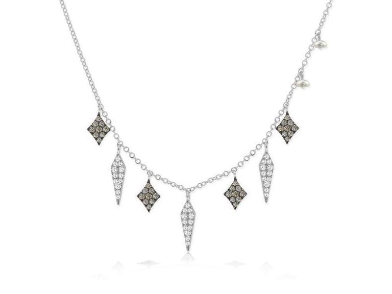 Cropped product page diamond fringe necklace