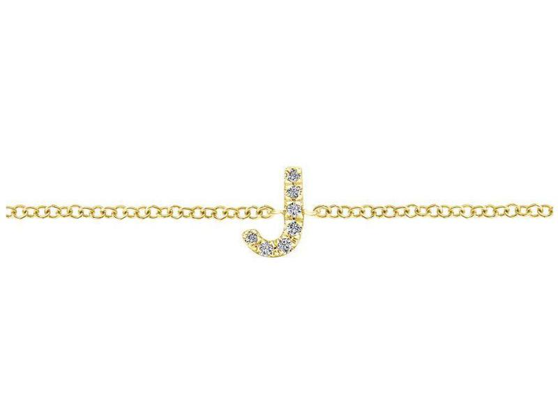 Cropped product page diamond j initial bracelet
