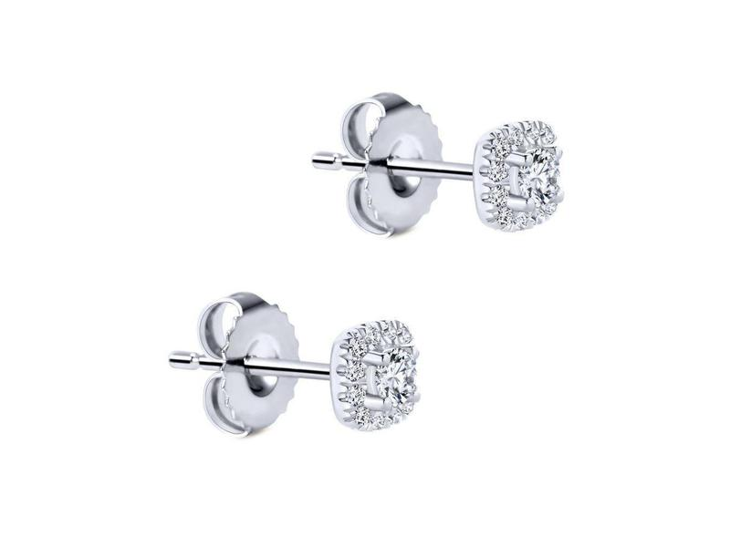 Cropped product page diamond halo stud earrings