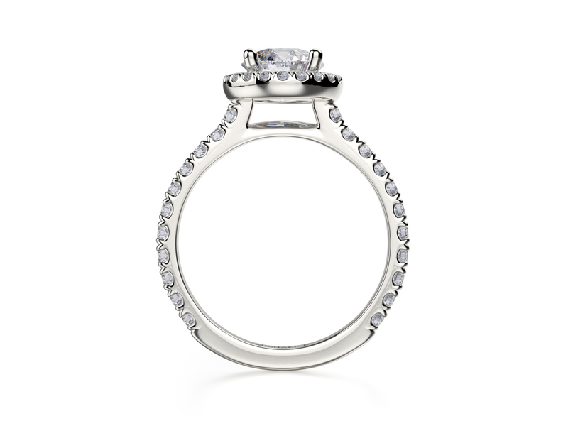 Cropped product page halo engagement ring