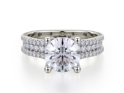 Cropped product listing triple row engagement ring