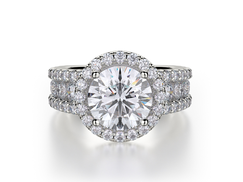 Cropped product page bold halo engagement ring