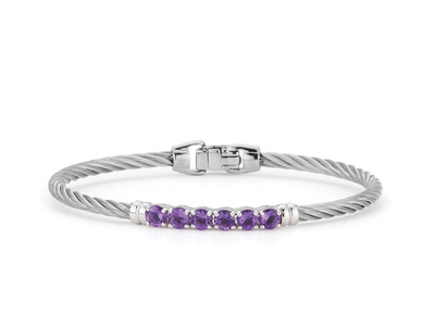 Cropped product listing burano amethyst cable bangle