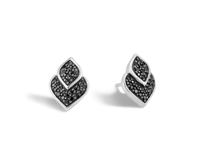 Cropped product listing naga black sapphire stud earrings