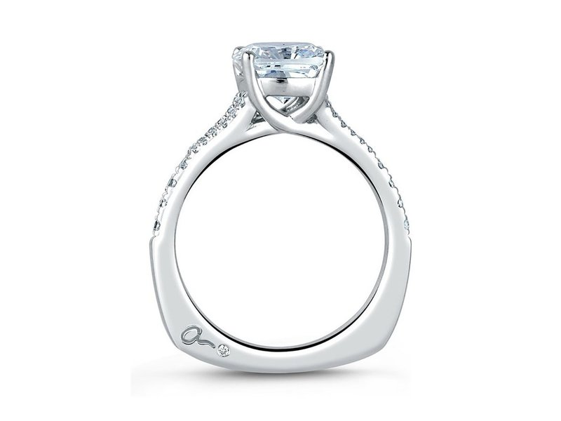Cropped product page crossover cushion engagement ring