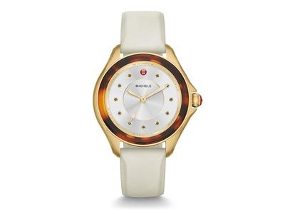 Cropped product listing cape ivory gold watch