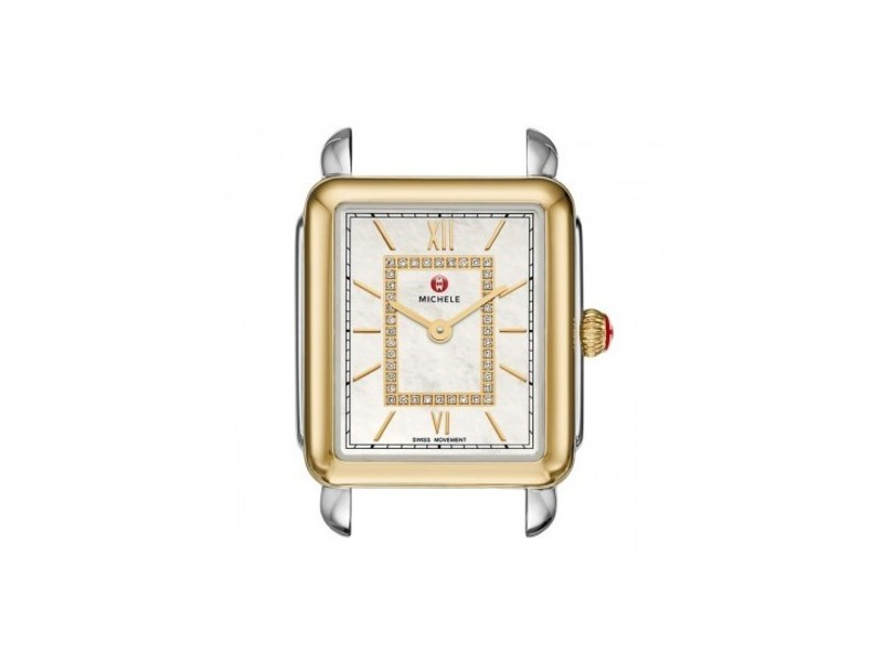 Cropped product page deco ii two tone diamond watch case