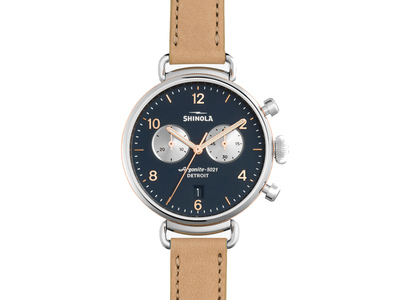 Cropped product listing the canfield chrono 38mm