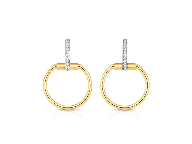 Cropped product page small classica parisienne diamond hoops