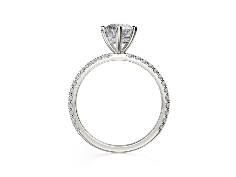 Cropped product page six prong engagement ring