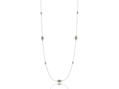 Cropped product listing signature four point station necklace
