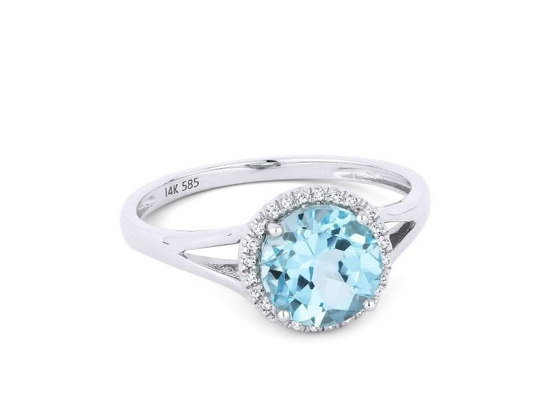 Cropped product page blue topaz diamond ring