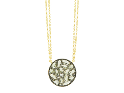 Cropped product listing rose d or rosecut disc pendant
