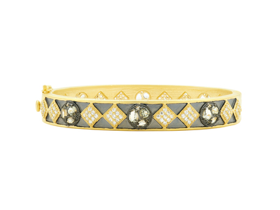 Cropped product listing rose d or hinge bangle
