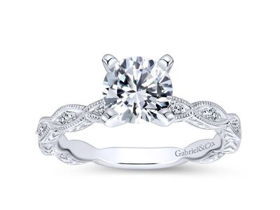 Cropped product listing sadie vintage inspired engagement ring