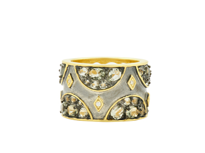 Cropped product listing wide band ring