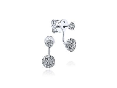 Cropped product listing peek a boo diamond stud earrings