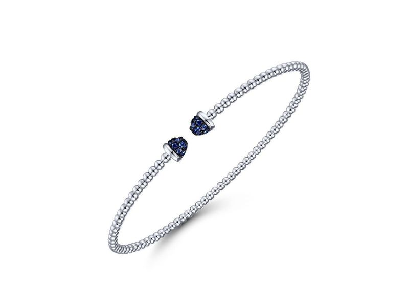Cropped product page flexible sapphire cuff bracelet