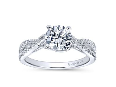Cropped product listing gina twisting engagement ring