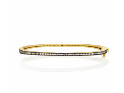 Cropped product listing thin pave hinge bangle