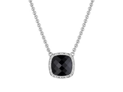 Cropped product listing black onyx necklace