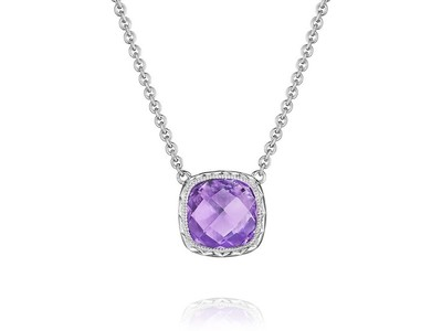 Cropped product listing amethyst necklace