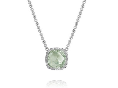 Cropped product listing prasiolite necklace