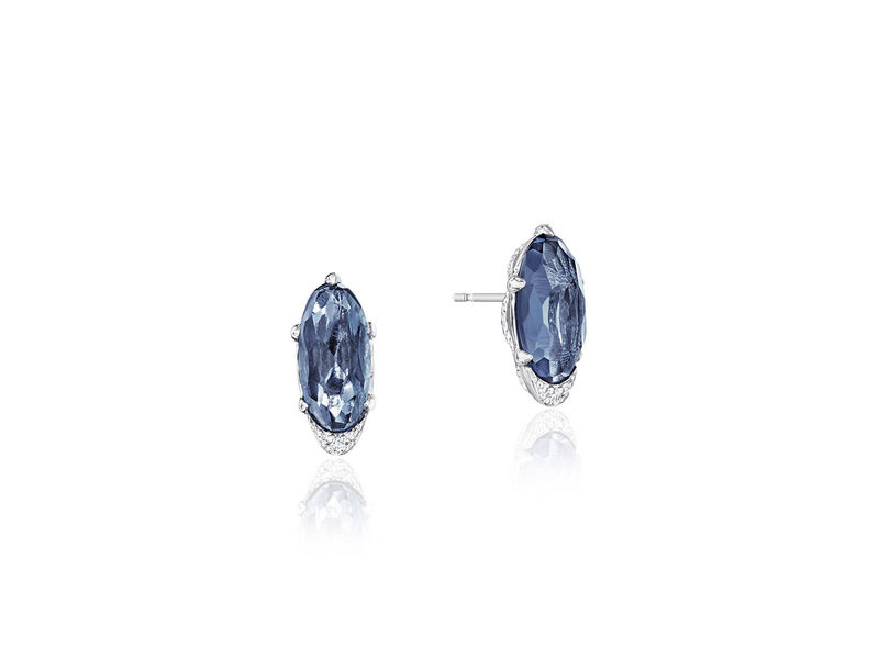 Cropped product page blue topaz earrings