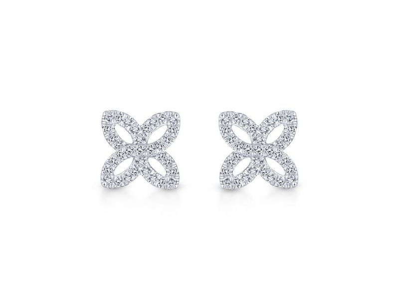 Cropped product page floral diamond studs