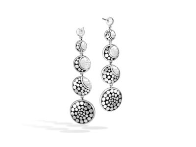 Cropped product listing dot moon phase drop earrings
