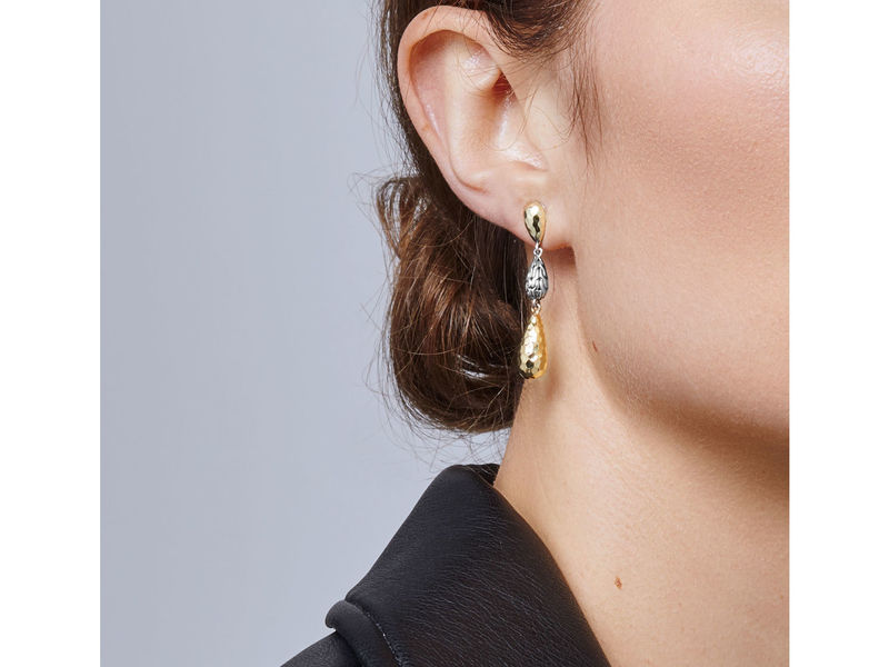 Cropped product page classic chain drop earrings