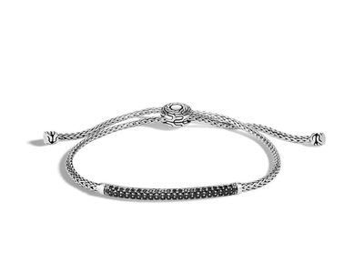 Cropped product listing classic chain pull through bracelet