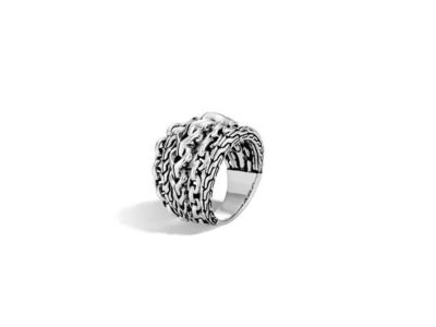 Cropped product listing asli classic chain link ring